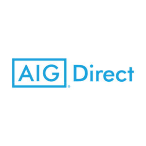 AIG Direct logo blue white
