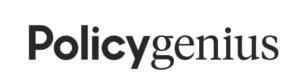 Policygenius logo black/white